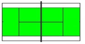 Groen speelveld