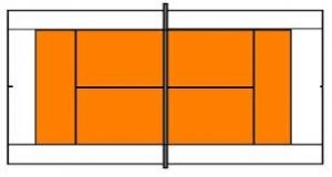 Oranje speelveld