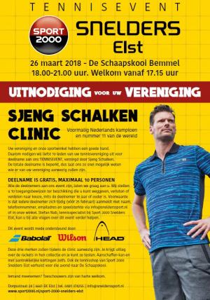 Tennisevent Snelders