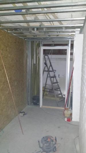 Verbouwing kleedkamers 1
